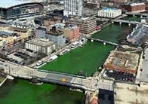 River Dyed Green to Support Milwaukee Bucks Ahead of NBA Playoffs [Video]