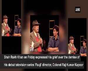 Shah Rukh Khan mourns Colonel Raj Kumar Kapoors demise [Video]