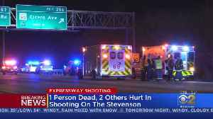 1 Dead, 2 Wounded During Stevenson Expressway Shooting [Video]