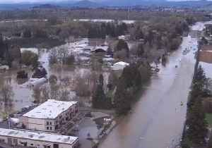 Up to Four Feet of Flood Water Recorded in Parts of Oregon [Video]