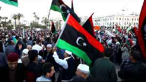 Protests in Libya against Haftar's offensive [Video]