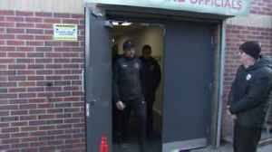 Barton stopped by police at Oakwell [Video]