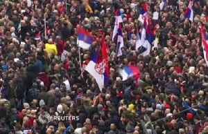 Thousands rally in Belgrade to protest against Serbian president [Video]