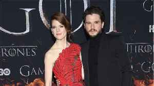 Rose Leslie Opens Up About Famous Cave Scene With Kit Harington [Video]