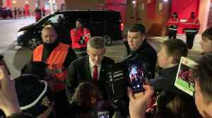 Ole Gunnar Solskjær meets supporters after West Ham win [Video]