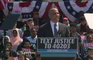Booker tries to jump start presidential campaign