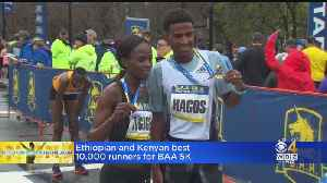 BAA 5K Kicks Off Boston Marathon Weekend [Video]