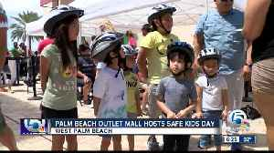 Free bike helmets distributed at 'Safe Kids Day' event in West Palm Beach [Video]