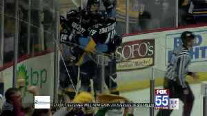 Walleye Win Game One Over Komets [Video]