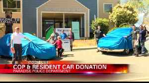 Esurance provides 2 refurbished cars to Camp Fire survivors [Video]