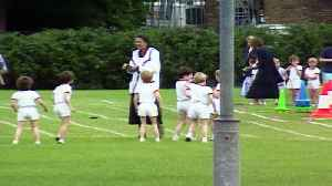 Royal Baby Countdown: Prince Harry's school sports day [Video]