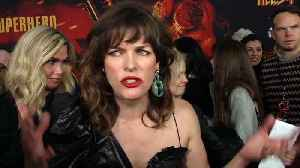 Milla Jovovich At 'Hellboy' Screening Premiere [Video]