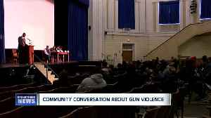 District Attorney's Office hosts community discussion panel focusing on consequences of gun violence [Video]