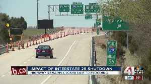 Businesses feel pinch of Interstate 29's closure [Video]