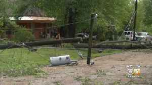 Severe Weather Pounds Areas Of Central, East Texas, Causing Widespread Damage [Video]