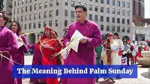 The Meaning Of Palm Sunday [Video]