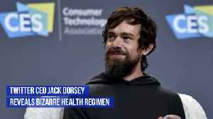 Twitter CEO Has An Unusual Daily Physical Routine [Video]