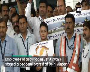 Jet Airways employees urge Government to intervene and save airline [Video]