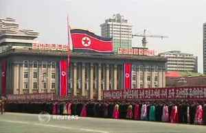 North Korea holds mass rally to celebrate Kim's re-election [Video]