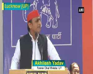 Akhilesh Yadav targets BJP over border security [Video]