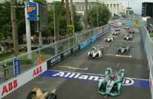 Evans wins Rome Formula E race to hand Jaguar first electric victory [Video]
