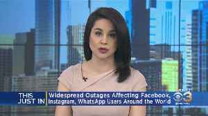Facebook, Instagram And WhatsApp Experiencing Outages [Video]