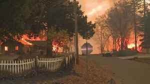 How One House Survived California Wildfire [Video]