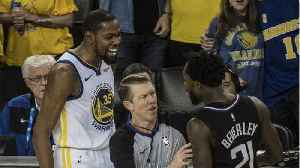 Kevin Durant And Patrick Beverley Get Ejected [Video]