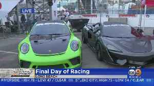 Drivers Rev Up For Acura Grand Prix Of Long Beach [Video]