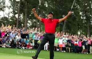 News video: Tiger Woods wins Masters, his first major in 11 years