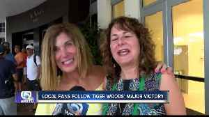 Local fans follow Tiger Woods' Masters victory [Video]