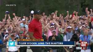 Tiger Woods seals fifth Masters title and 15th major title [Video]