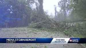 Storm recovery continues as damage is being reported across the state [Video]