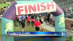 Purdue holds record breaking 'Challenge' 5K [Video]