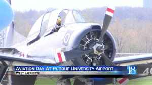 Aviation Day held at the Purdue Airport [Video]