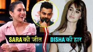 Sara Ali Khan Virat Kohli Together For A Film | Disha Patani Loses To Sara [Video]