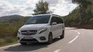 Mercedes-Benz Marco Polo 300 d in crystal white Driving Video [Video]