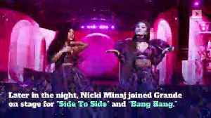 Ariana Grande Brings Out *NSYNC, P Diddy and More at Coachella [Video]