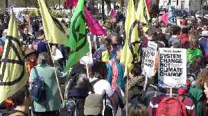 Climate change protesters block traffic in central London's Marble Arch [Video]