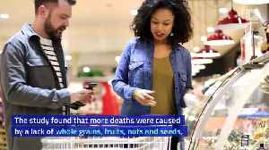 1 in 5 Global Deaths Are Linked to Poor Diet [Video]