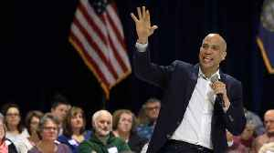 Cory Booker's 2020 Kickoff Doesn't Receive Big Turnout [Video]
