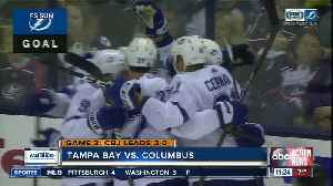Columbus Blue Jackets move to the brink of sweeping Tampa Bay Lightning [Video]