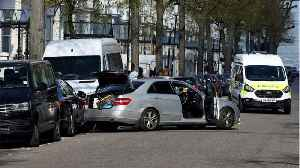 News video: London Police Forced To Open Fire After Car Rams Ukrainian Ambassador's Car