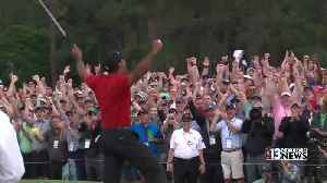 Tiger Woods wins first Masters since 2005 [Video]