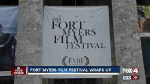 Fort Myers Film Festival wraps up successful 2019 event [Video]