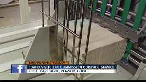 Idaho State Tax Commission offering curbside service today [Video]
