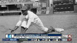 MLB players to wear #42 to honor Jackie Robinson Day [Video]