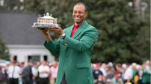 News video: Tiger Woods Responded To His Masters Victory, Saying 'Now We Know Why I'm Balding'