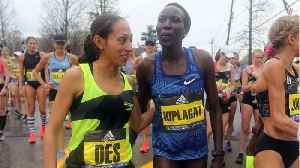 Boston Marathon Champion Desiree Linden Is Competing For The Trophy Again [Video]