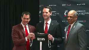 University of Cincinnati welcomes John Brannen as head coach [Video]